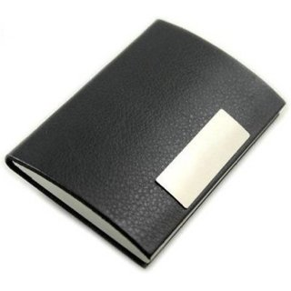 AV Enterprises Black Card Holder