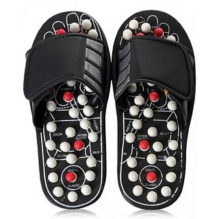 Accu Paduka Acupressure Spring Action Massage Slipper For Full Body Accu