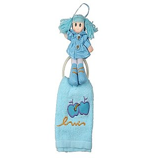 Winner Blue Color Towel Hanging Ring - Wall Hanging Towel Holder With Napkin, 30005211
