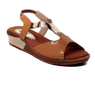 MSC Women's Beige Sandals