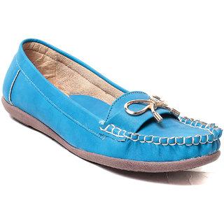 MSC Women's Blue Loafers