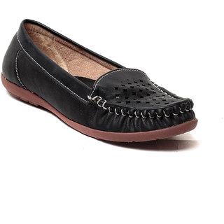 MSC Women's Black Loafers