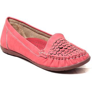MSC Women's Pink Loafers