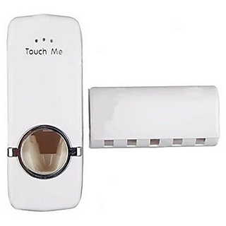 SAPRO ToothPaste Dispenser portable wall stick