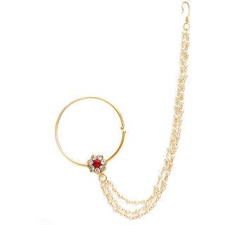 Jewels Gold Fashion Designer Latest Stylish Nath For Women  Girls