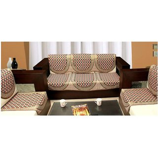 Shiv Kirpa Beautiful 5 Seater Sofa Cover Pack Of 10