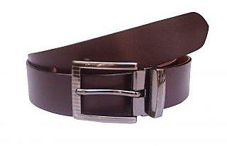 Tahiro Brown Leather Belt - Pack Of 1