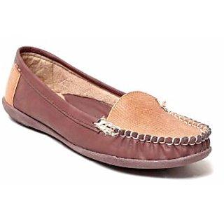 MSC Women's Brown Loafers