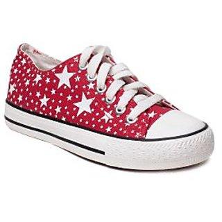 MSC Women's Red Sneakers