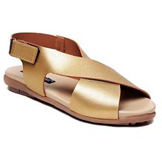 MSC Women's Gold Flats