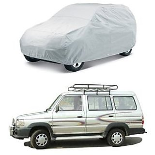 QUALIS - DUSTPROOF SILVER CAR BODY COVER - HMS