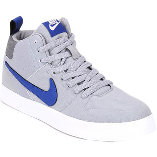 62bf73ae50 Buy Nike Men Grey Liteforce III Mid-Top Sneakers Online   ₹3495 ...
