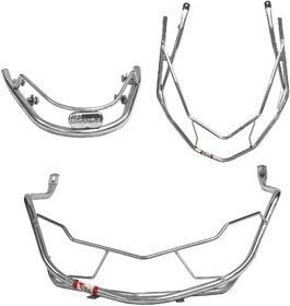 Ride Smart Honda Dio Safety Guards Corrosion Resistant Stainless Steel Frame Easy Do-it-yourself set up