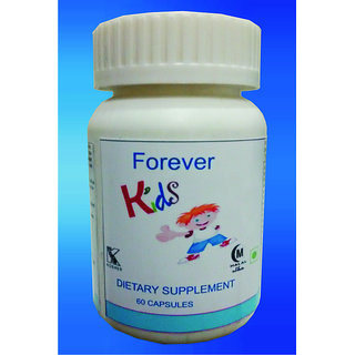 Hawaiian Herbal, Hawaii,USA -  FOREVER KIDS CAPSULES - 60 Capsules (Buy any Healthcare Supplement  Get the Same Drops Free)