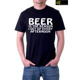 Ask For Fashion Round Neck Jxm010 T-shirt (black)