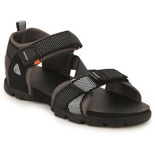 200f12398622 Buy Sparx Men s Black Velcro Sandals Online   ₹775 from ShopClues