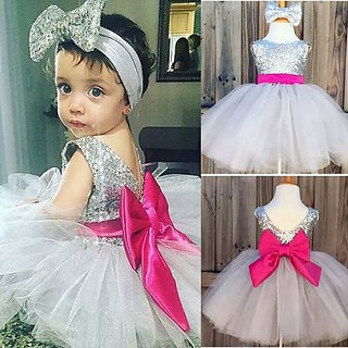 f72a11e61 Buy Fancy Cute Party wear baby GIRLS frocks for SUMMER occassion ...