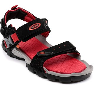 SS0502G Sparx Men' Floater Sandals (SS-502 Black)