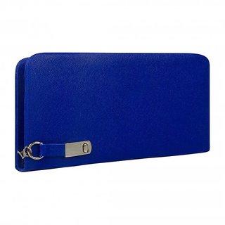 Clementine Women's Clutch (Blue,Magnet-Blu) (sskclem196)