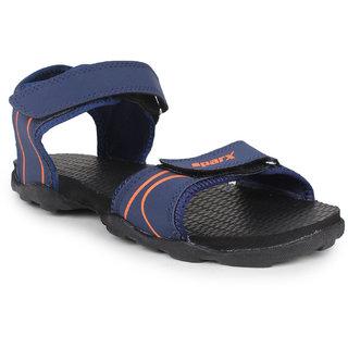 Sparx Men's Navy Velcro Sandals