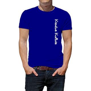 52243fa349300 Buy Kreative Kulture T-shirt Blue Online - Get 44% Off