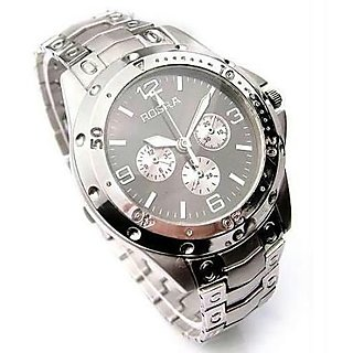 Buy rosra stylish analog black dial watch for men 39 s online get 0 off for Rosra watches