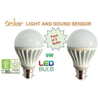 Light and Sound Sensor 9W Smart LED Bulb