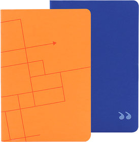Doodle Freedom Fettish Notebook,Paper Finish,Soft Cover,Unruled, 80 Pages