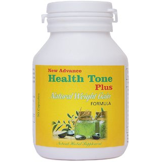Gluta New Advance Natural Health Tone Plus Herbal Weight Increase Formula (90 Caps)