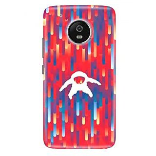 Motorola Moto G5 PlusPrinted Back Cover By CareFone