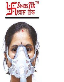 SwasTik CPAP Full Face Mask (Medium)