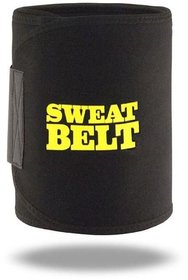 Hot Shaper Slimming Sweat Belt Shapers tummy  Fat Waist Burner Neoprene Belt Free Size Adjustable
