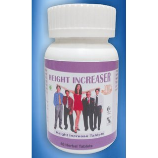 Hawaiian Herbal, Hawaii,USA -  HEIGHT INCREASE CAPSULES - 60 Capsules (Buy any Healthcare Supplement  Get the Same Drops Free)