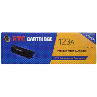 NTC 123A Cyan Toner Cartridge Compatible for HP Color LaserJet 2550 L,2550 Ln,2550 n,2800, 2820, 2830, 2840