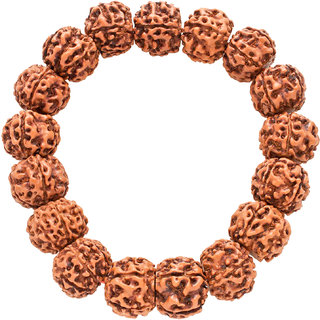 Pancha Mukhi (5 Face) Asli Rudraksha Adjustable Bracelet - A0006-02