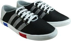 Howdy Black Canvas Shoes For Men  Boys