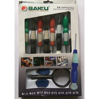 BAKU BK-8600  SERIES HIGH QUALITY SCREWDRIVER SET