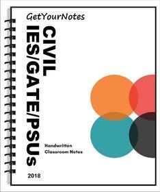 Civil Engineering IES/GATE/PSUs Notes