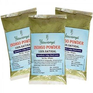 Yauvanya Indigo Powder - 3X100 gms