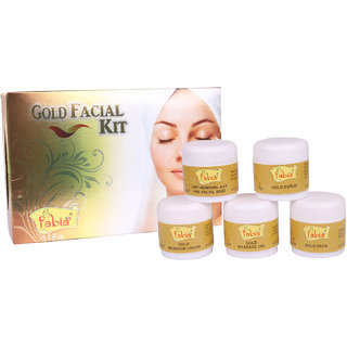 Fabia Goldd Facial Kit (No of units 1)