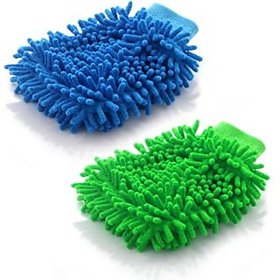 hand glove duster set of 2