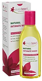 everteen Natural Intimate Wash for feminine hygiene - 1x105ml