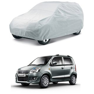 SUNLIGHT PROTECTION SILVER CAR BODY COVER FOR NEW WAGON R - HMS