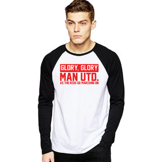 Glory Glory MUFC Football Raglan T-shirts