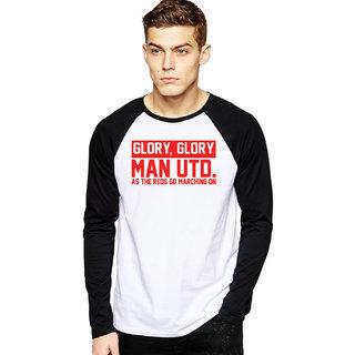 Glory Glory MUFC Football Raglan T-shirts