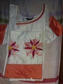 Floral churidhar