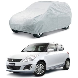 SUNLIGHT PROTECTION SILVER CAR BODY COVER FOR NEW DEZIRE  - HMS