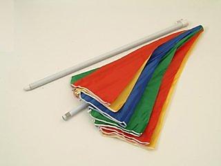 Multi Color Garden Umbrella
