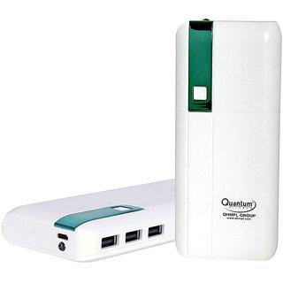 Quantum Hi-Tech 11000mAh 3-Port Power Bank