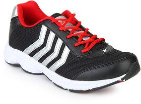 Sparx Men Black & Red Sports Shoes